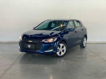 Foto numero 0 do veiculo Chevrolet Onix HATCH PREM. 1.0 12V TB Flex 5p Aut. - Azul - 2020/2021